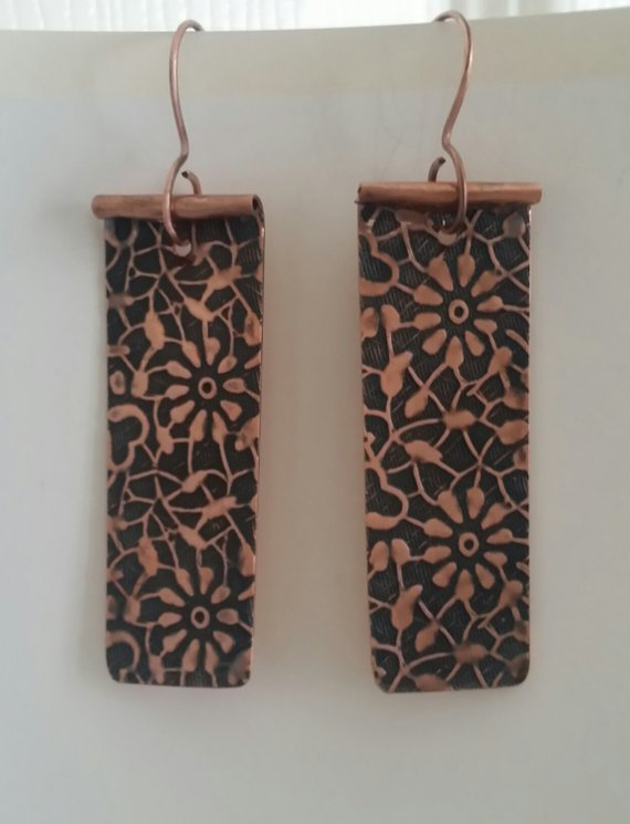 Copper Flower cutouts
